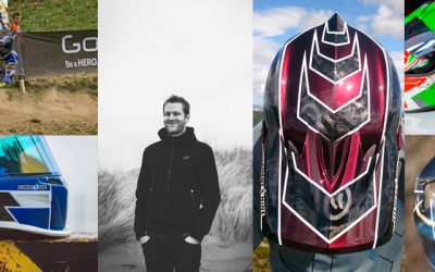 Element 9 Graphics – Custom Helmet Design & Paint from Scotland