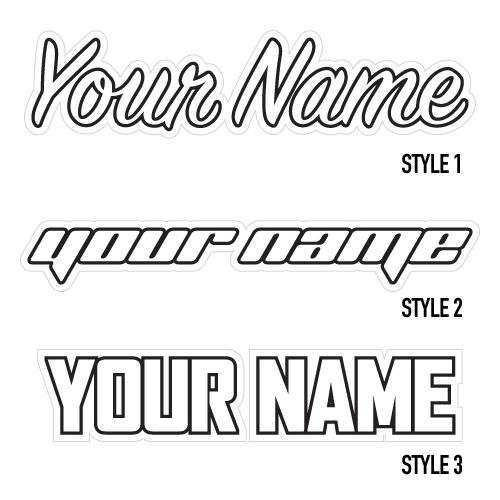 jersey name styles