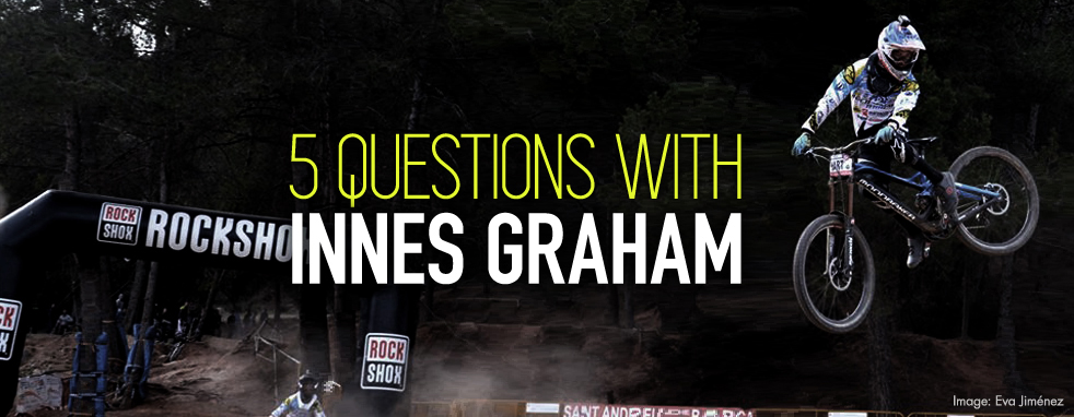 5 Questions with Innes Graham