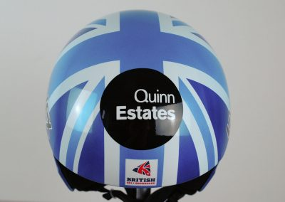 Alex Tilley's Uvex Downhill Ski Helmet