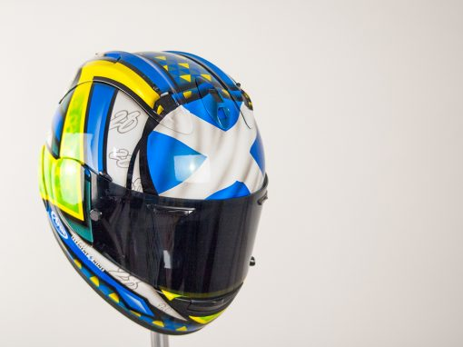 Euan Meston Arai RX7