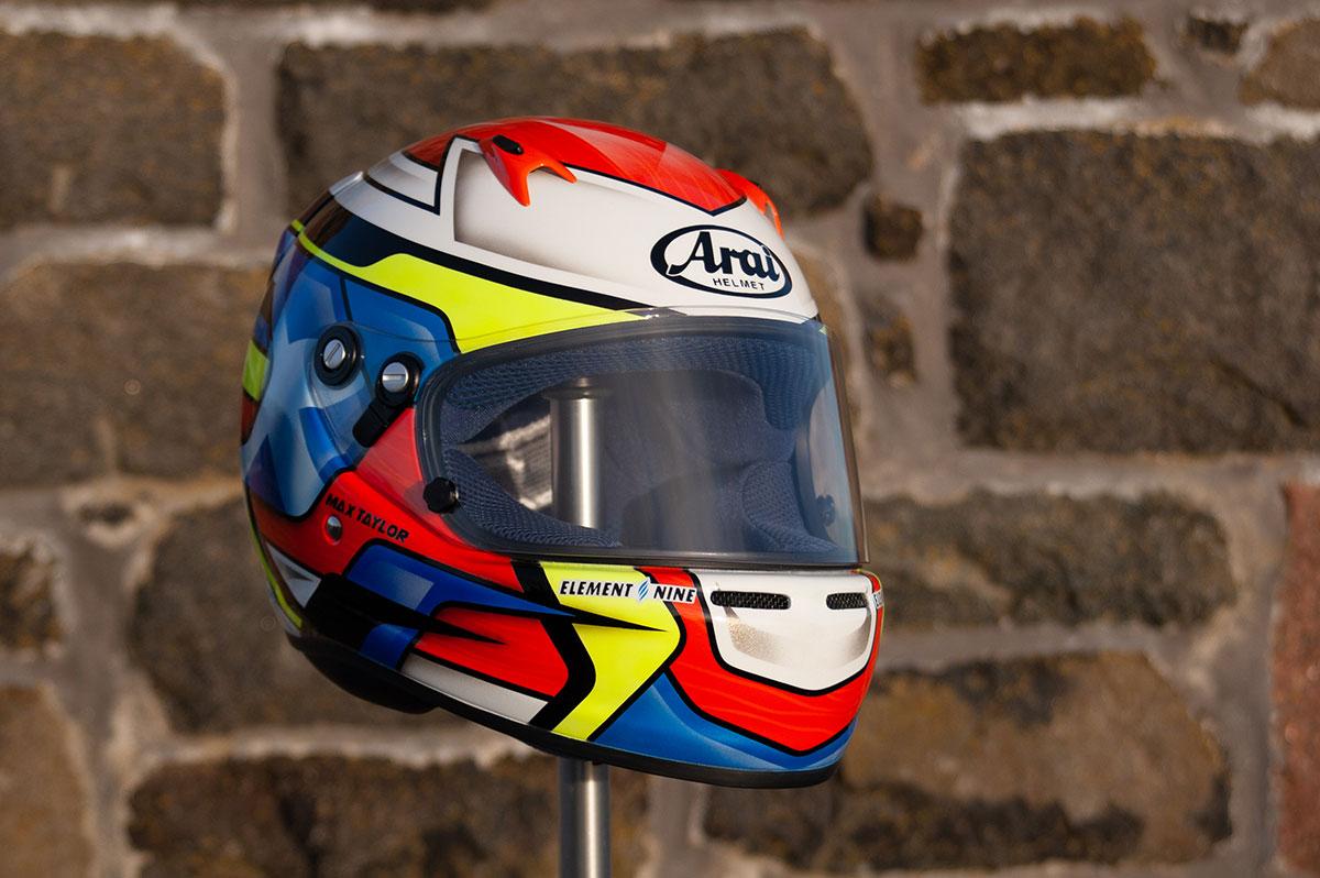 Max Taylor Custom Helmet Arai ck6