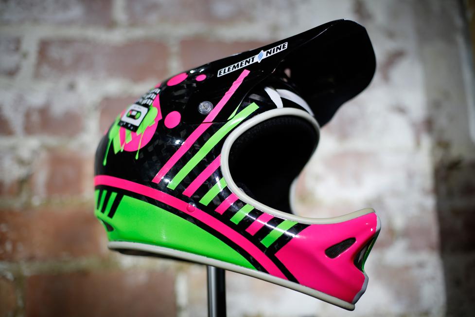 Rob Davidson's Pink & Green D2