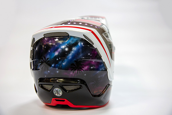 Reece Wilson Custom Aircraft Helmet 2019