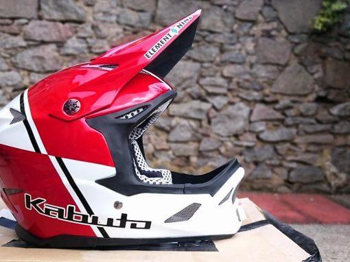 Sam Herd Custom Kabuto DH Helmet