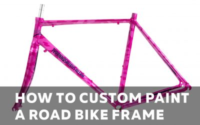Video – How to Custom Paint a Road Bike Frame