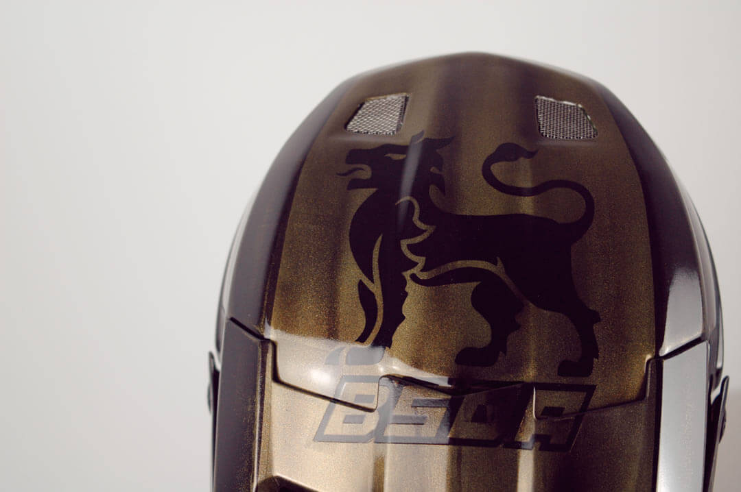 Will Weston Custom Helmet Paint