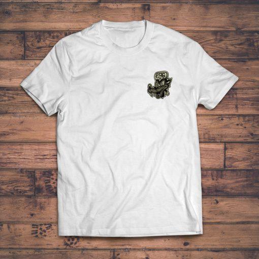 E9G Wolf Dog T-shirt White