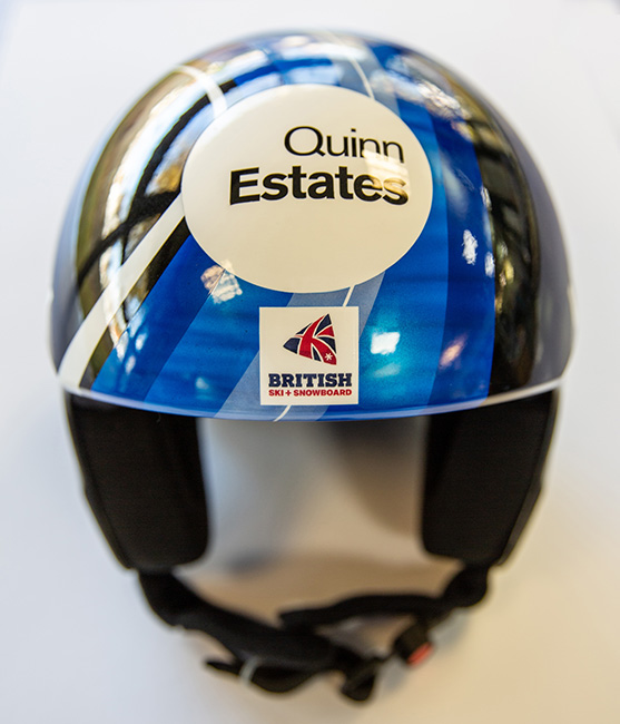Alex Tilley's Uvex Ski Helmets