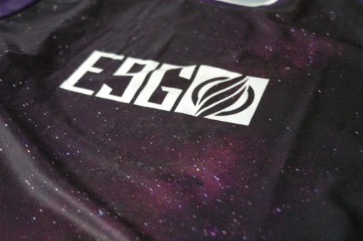 E9G Infinite Race Jersey MTB DHMTB MX chest detail