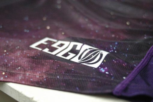 E9G Infinite Race Jersey MTB DHMTB MX tail detail
