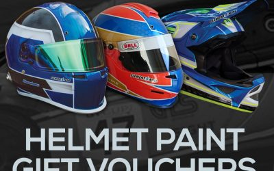 Helmet Paint Gift Vouchers Now Available