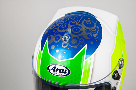 jonathan lisseter arai gp6 custom paint uk