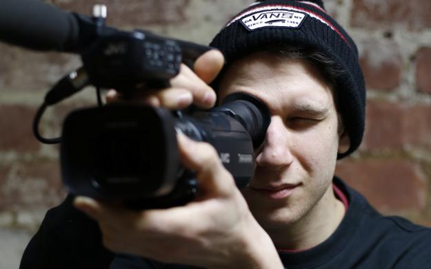 Stuz Leel With Camera